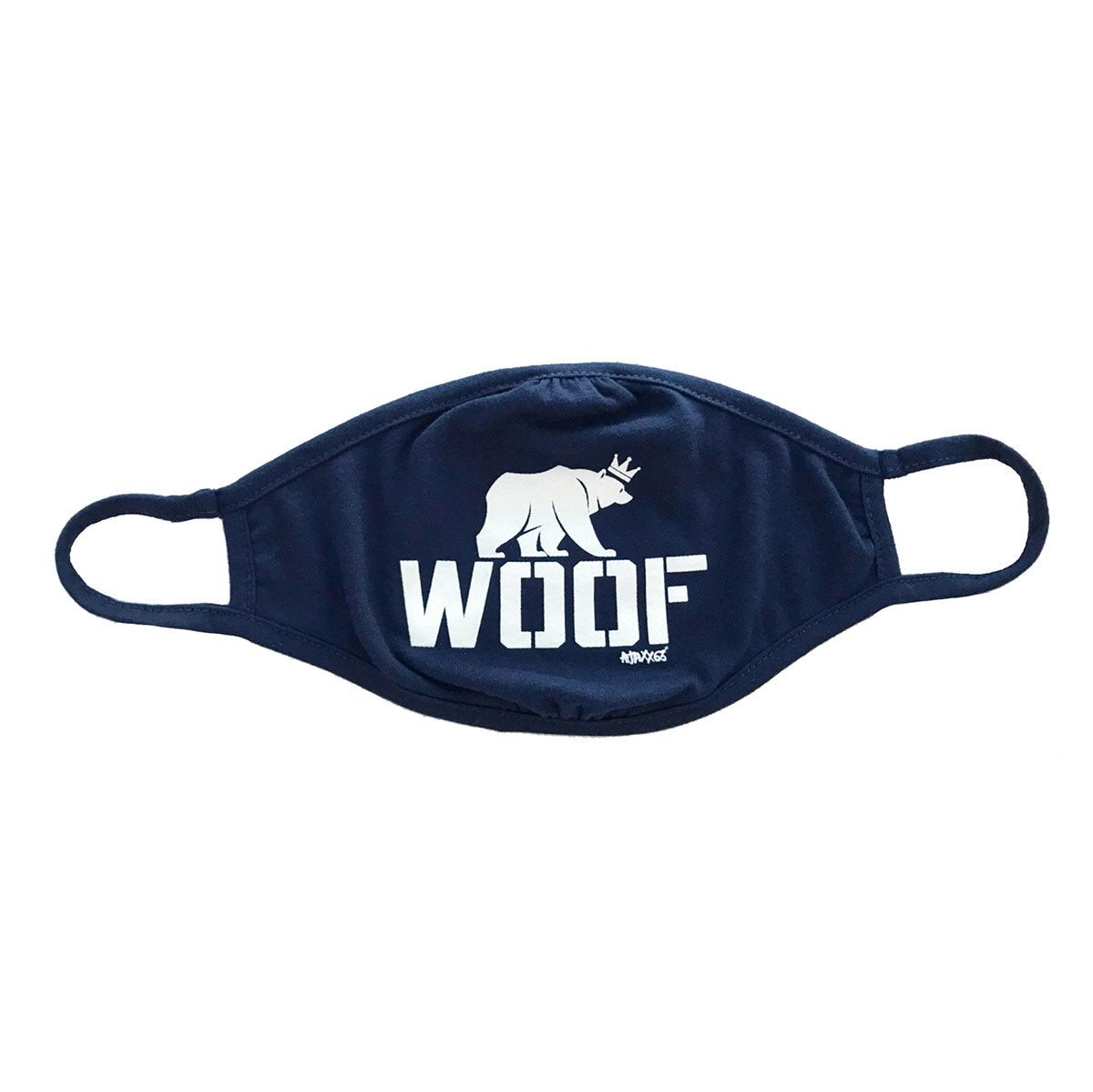 Shop Ajaxx63 Woof Sports Face Mask 1 available at MensUnderwear.io