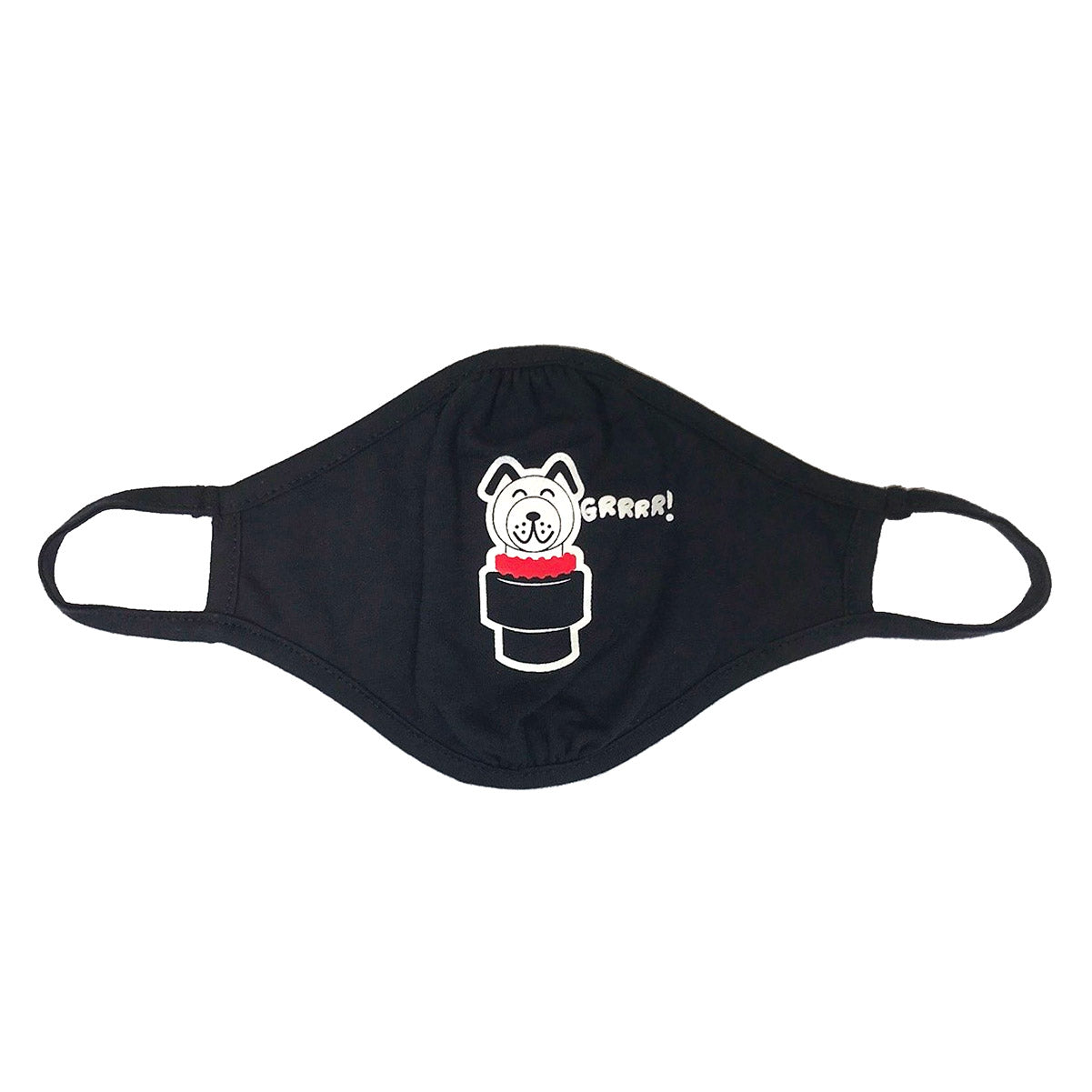 Shop Ajaxx63 Grrr Dog Sports Face Mask 1 available at MensUnderwear.io