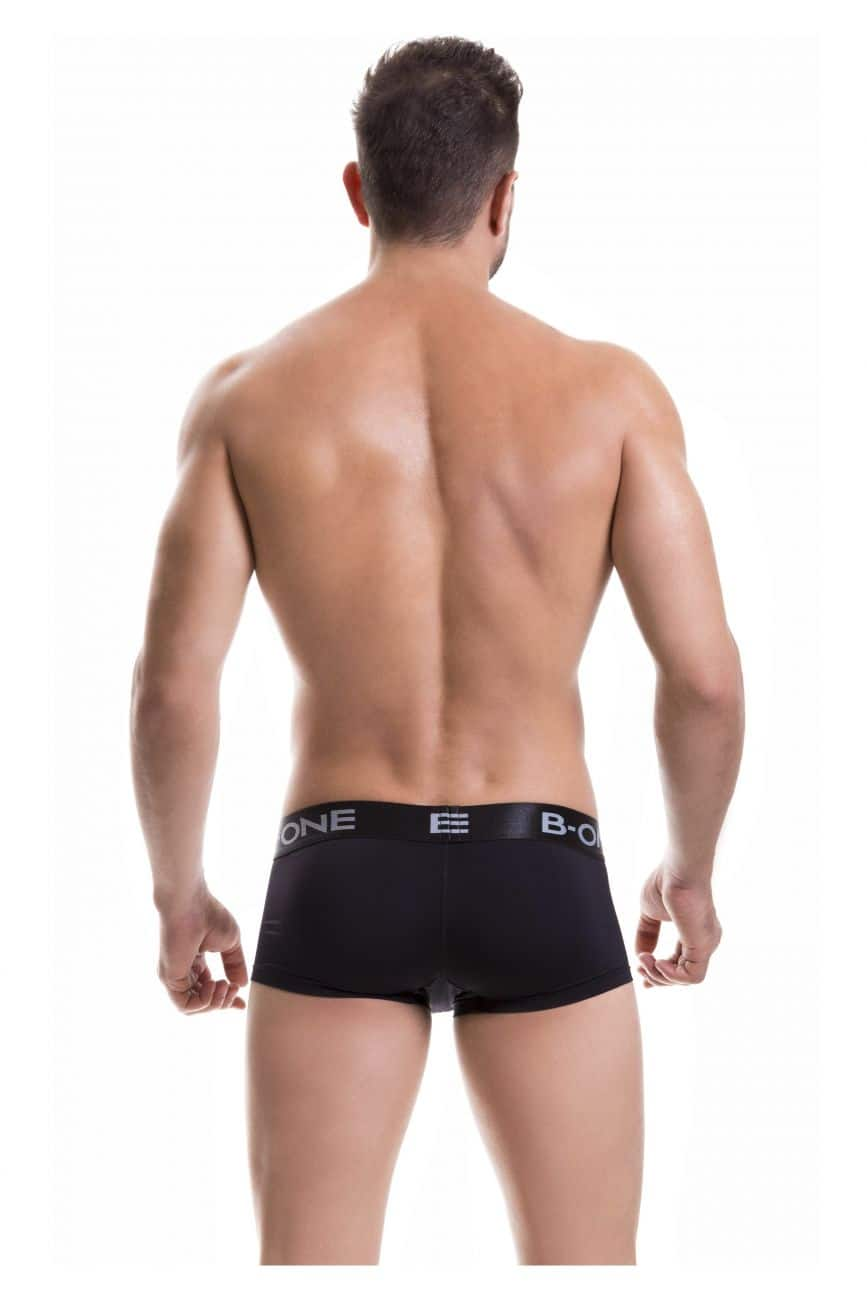 Male underwear model wearing B-One 0003-2 Boxer Briefs Classic available at www.MensUnderwear.io