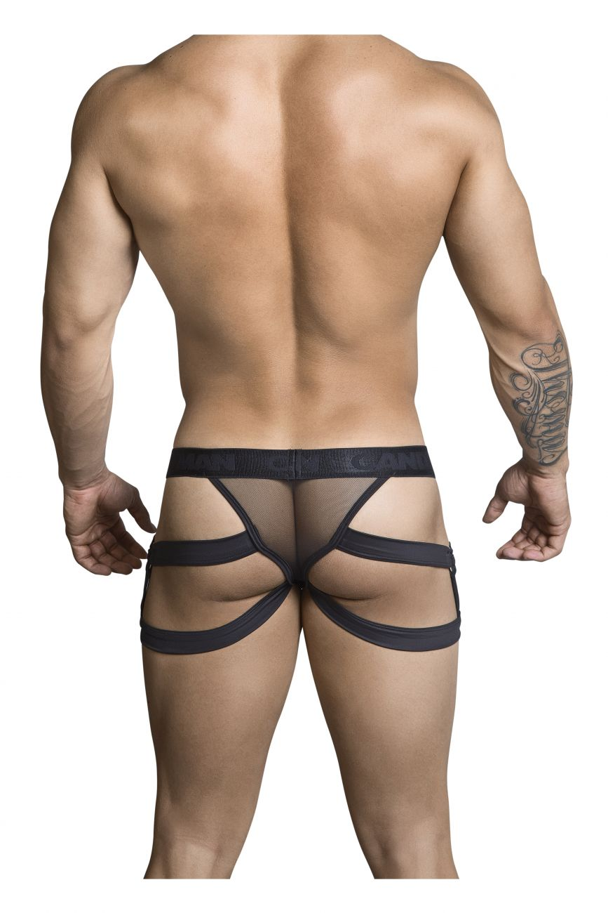 Male underwear model wearing CandyMan 99298 Jockstrap available at www.MensUnderwear.io