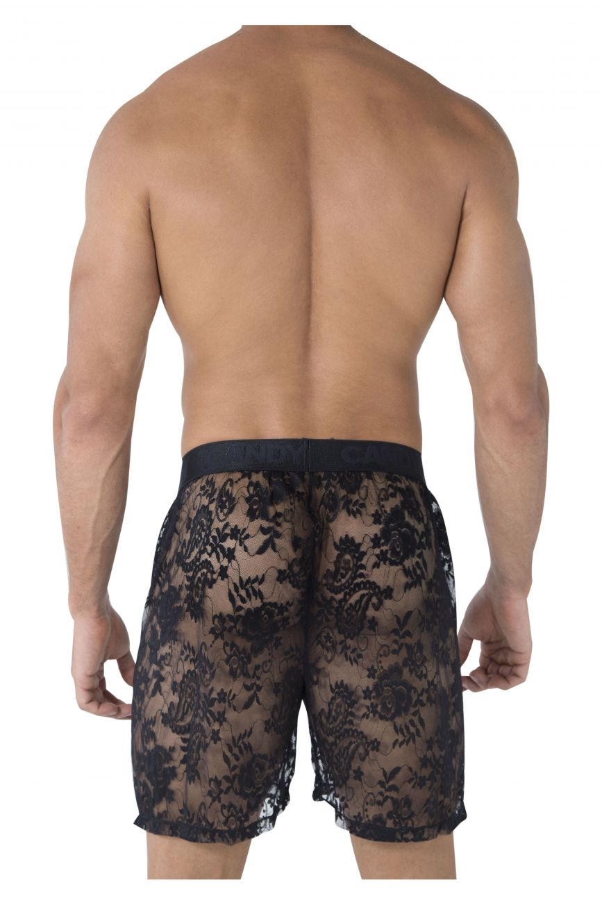 CandyMan Men's Lace Boxers - available at MensUnderwear.io - 1