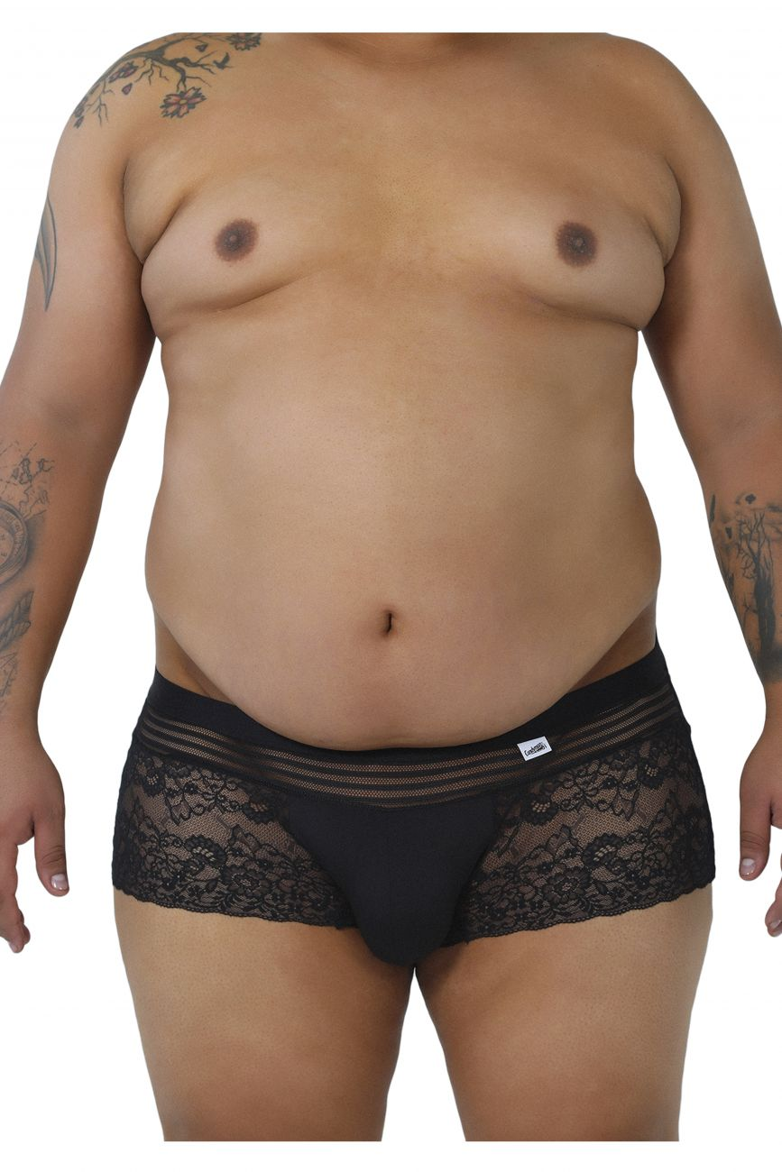 CandyMan Men's Plus Size Lace Briefs - available at MensUnderwear.io - 1