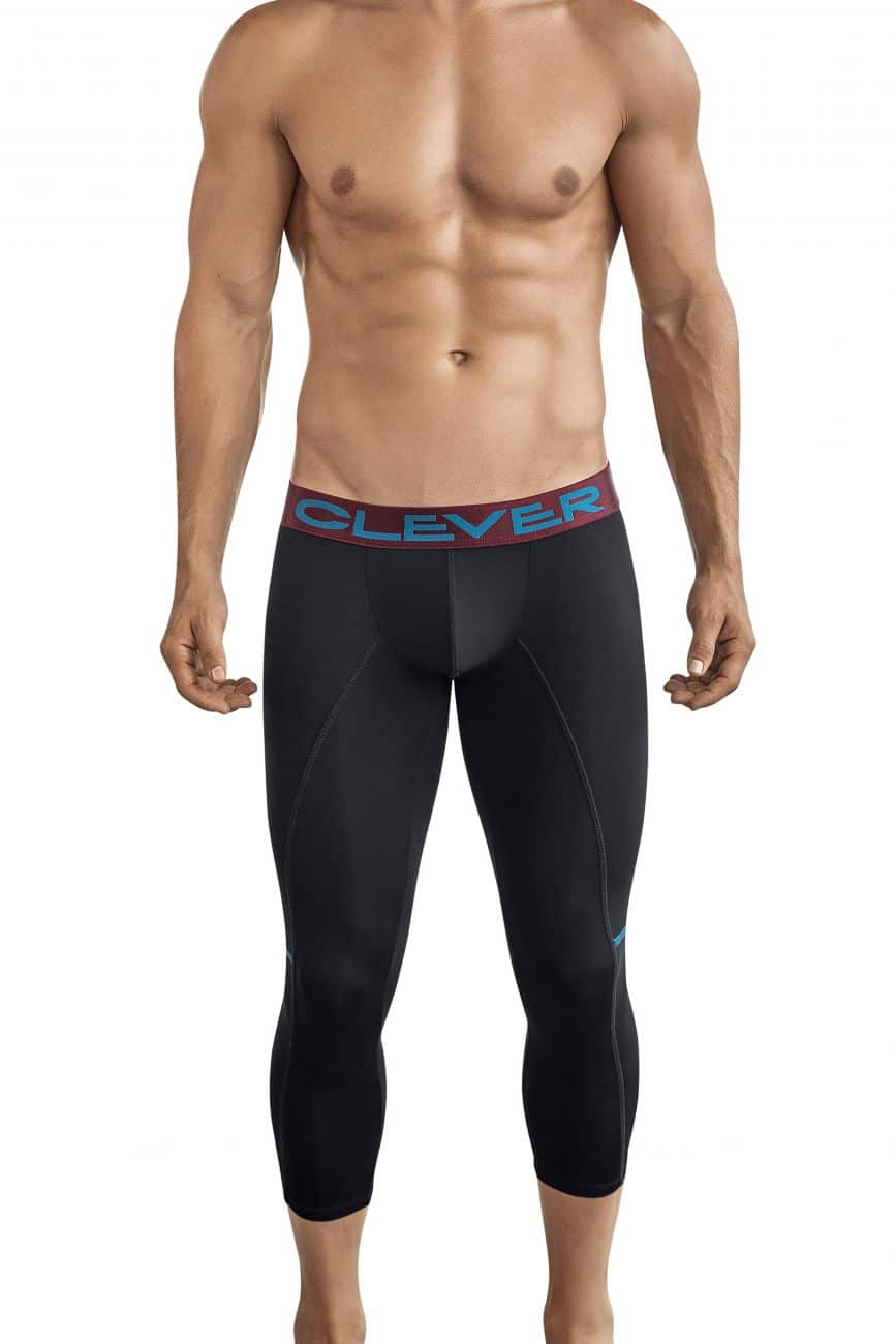 Male underwear model wearing Clever 0316 Power Athletic Pants available at www.MensUnderwear.io
