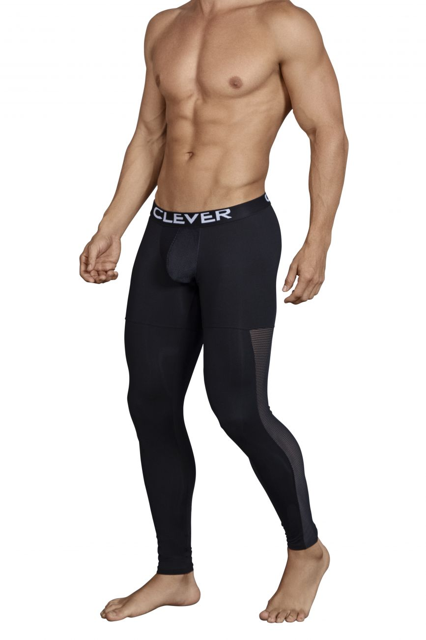 Male underwear model wearing Clever 0318 Astist Athletic Pants available at www.MensUnderwear.io