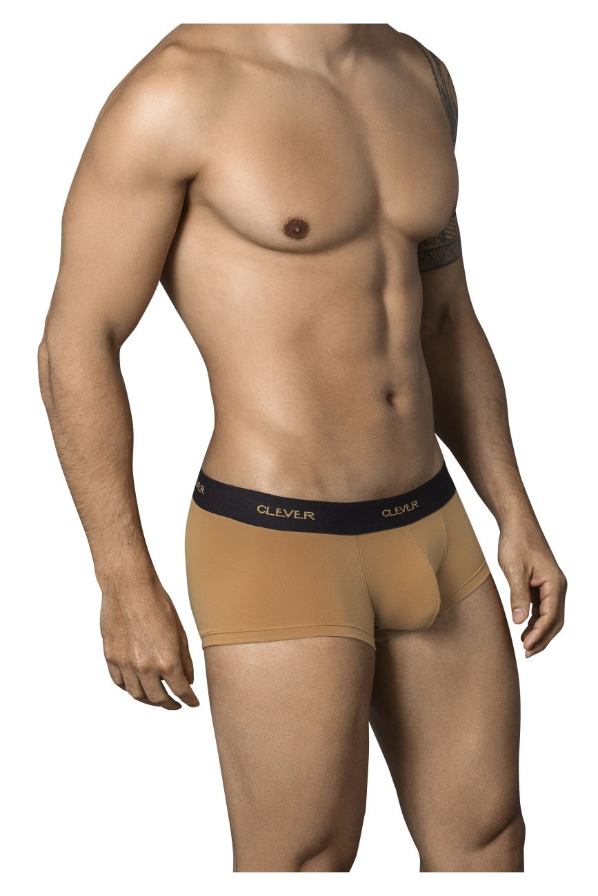 Male underwear model wearing Clever 2350 Conservative Latin Boxer Briefs available at www.MensUnderwear.io