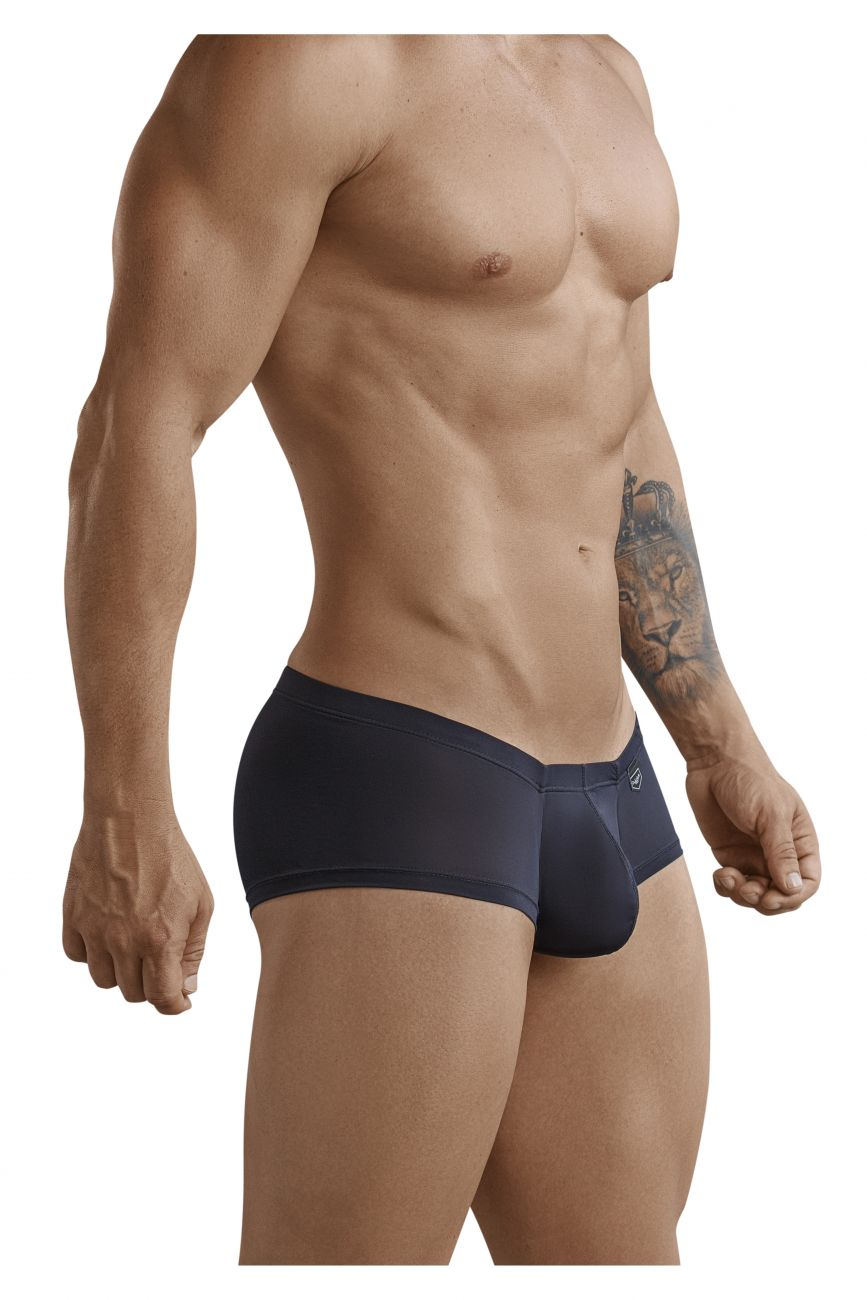 Male underwear model wearing Clever 2373 Australian Latin Boxer Briefs available at www.MensUnderwear.io