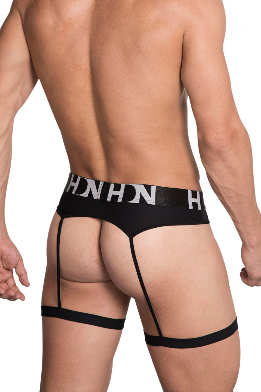 Male underwear model wearing Hidden 954 Garterbelt available at MensUnderwear.io.