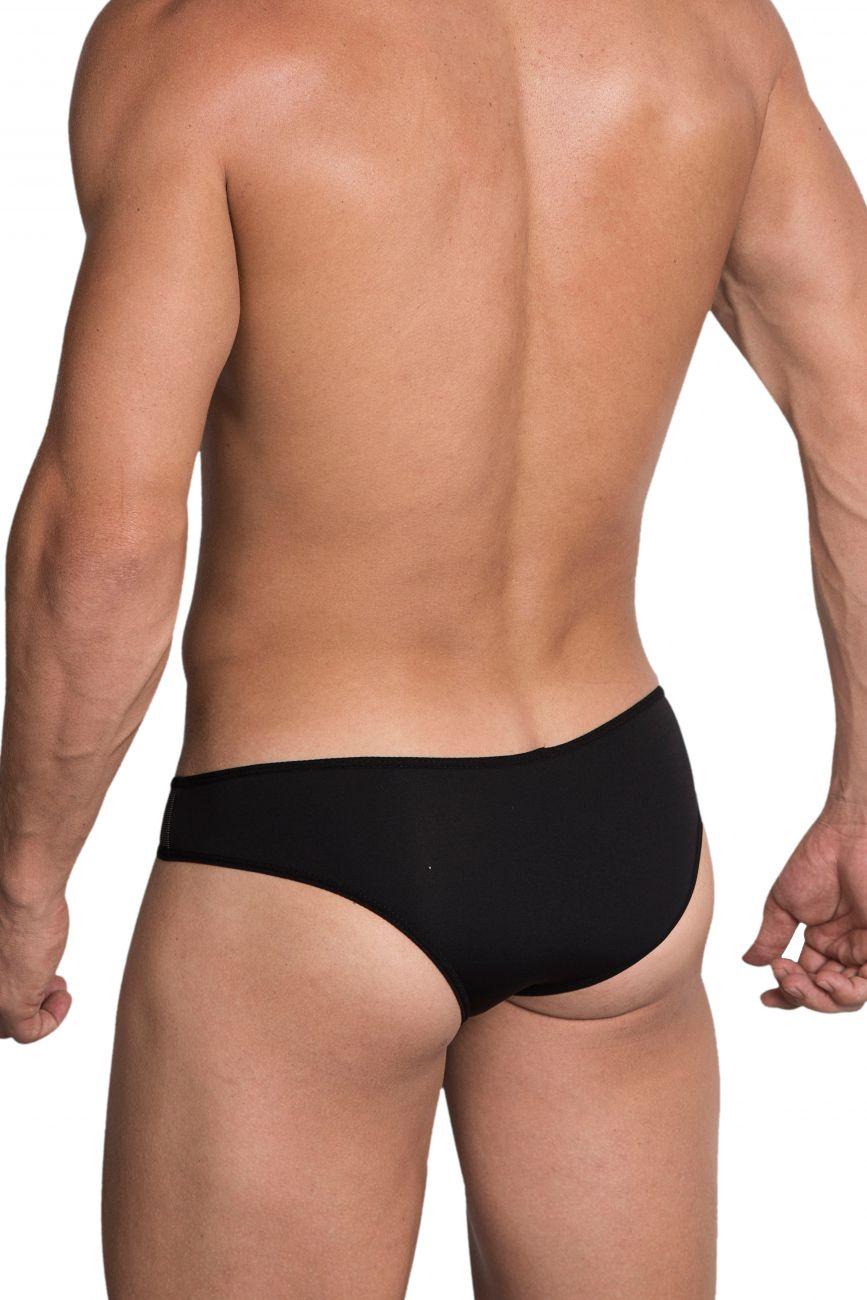 Male underwear model wearing Hidden 959 Microfiber Bikini available at MensUnderwear.io.