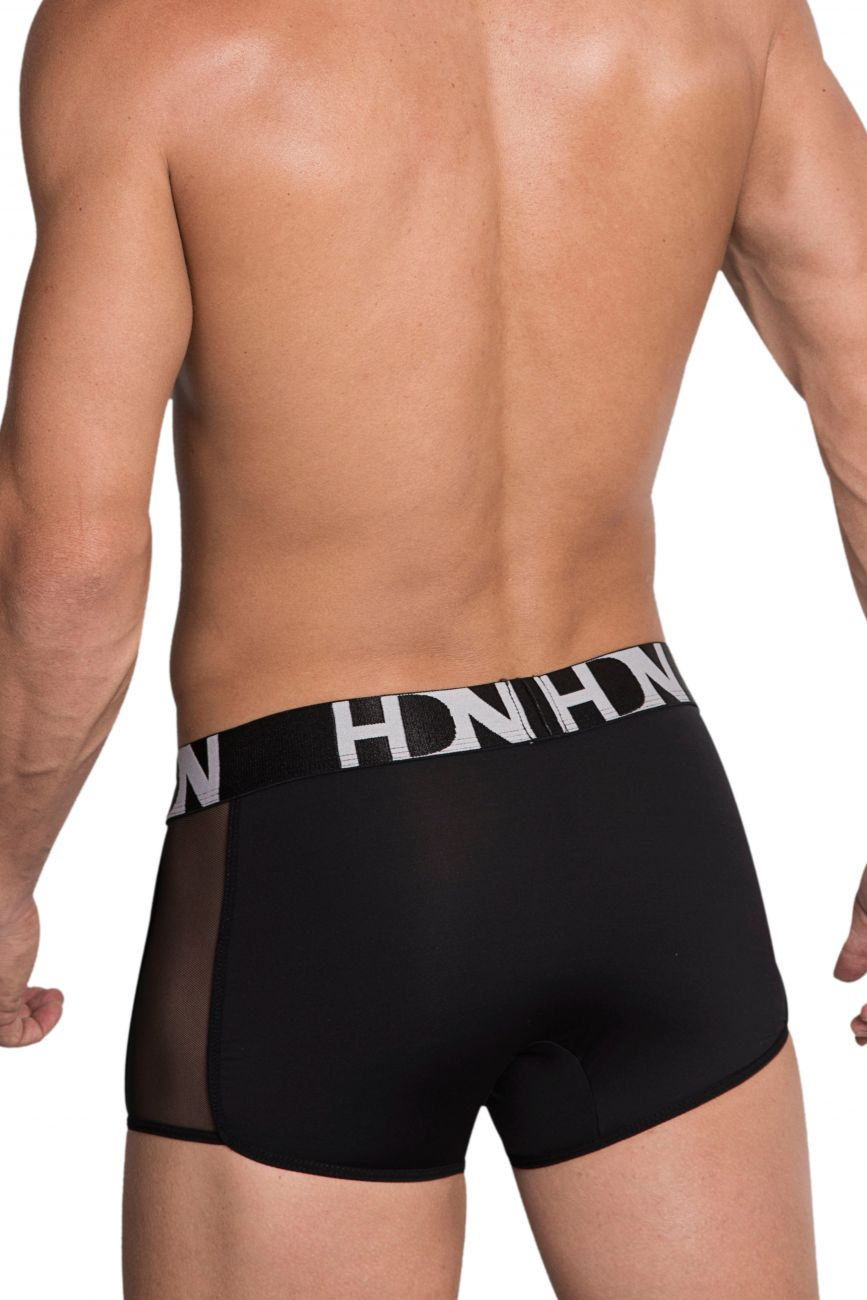 Male underwear model wearing Hidden 964 Mesh side Trunks available at MensUnderwear.io.