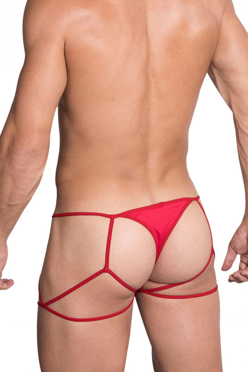 Male underwear model wearing Hidden 971 Jockstrap-Thong available at MensUnderwear.io.