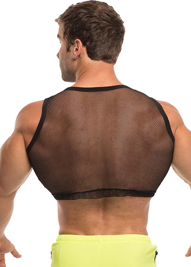 Men/'s Lace Mesh Boxer Shorts Sport Fishnet See Through Sports Underwear Briefs