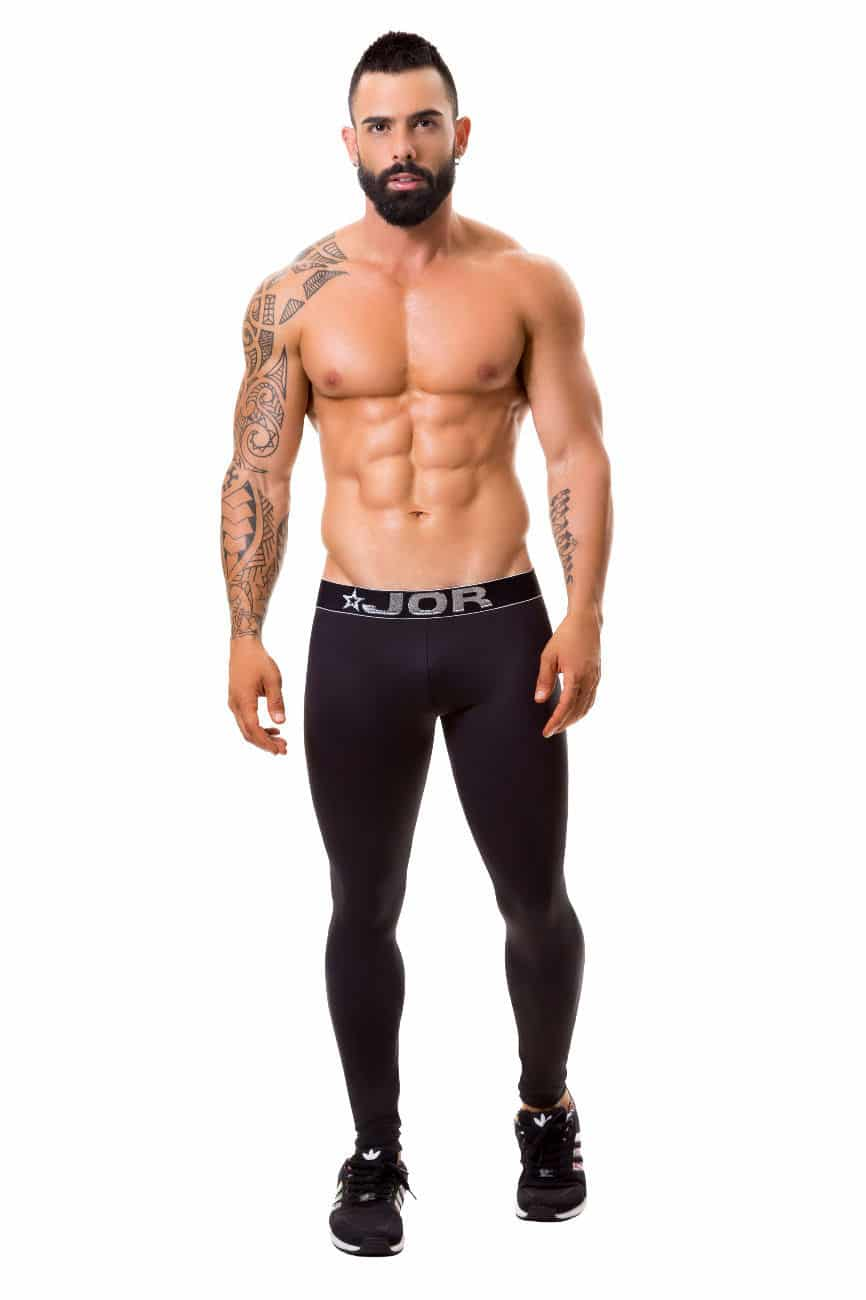 Male underwear model wearing JOR 0375 Fitness Athletic Pants available at www.MensUnderwear.io