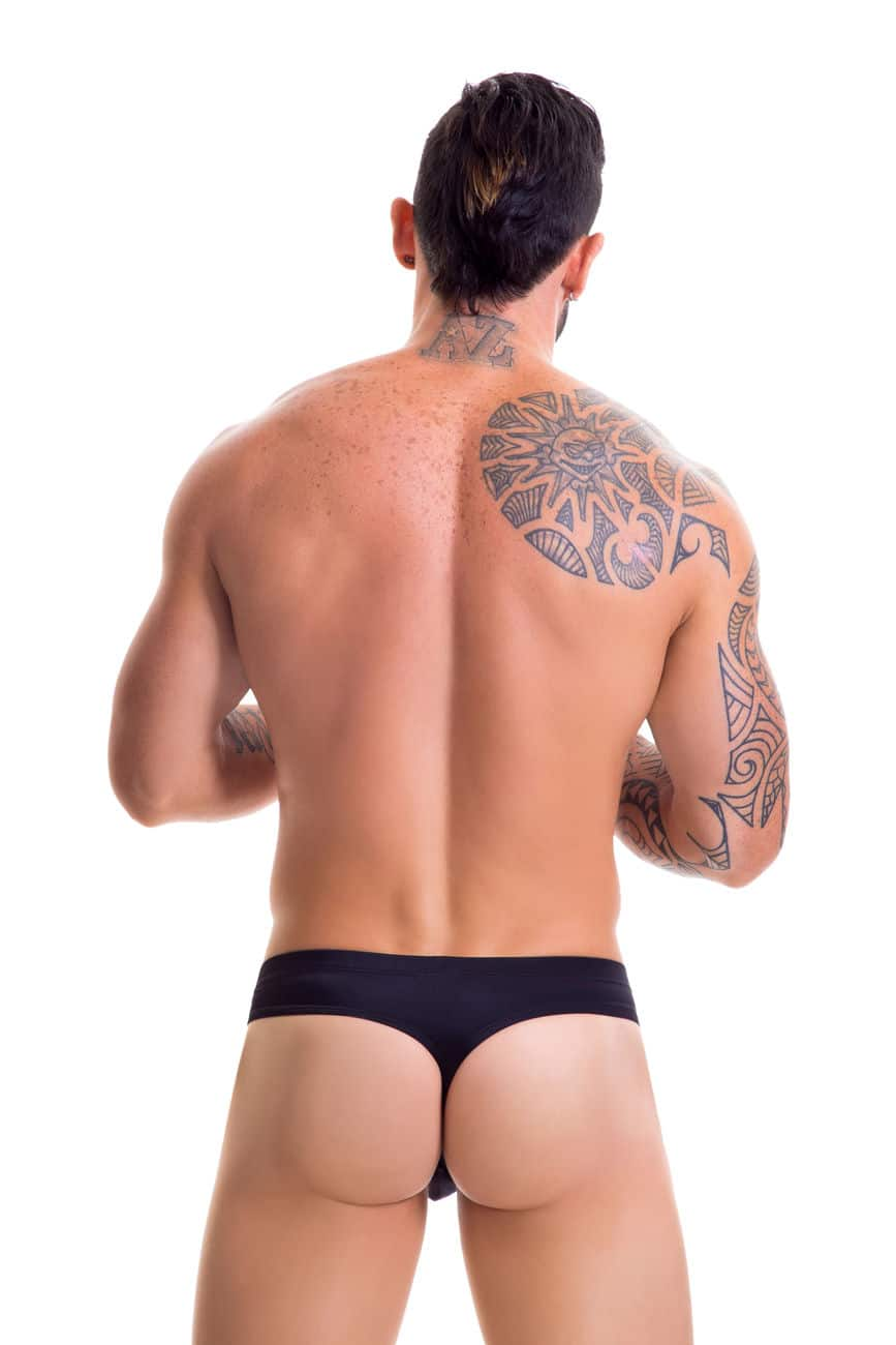 Male underwear model wearing JOR 0427 Sunny Swim Thongs available at www.MensUnderwear.io