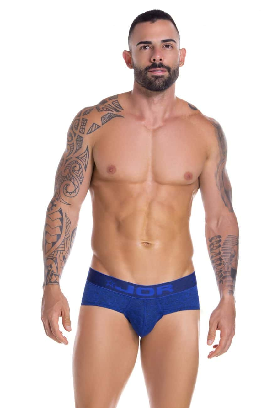 Male underwear model wearing JOR 0829 Pop Jockstrap available at www.MensUnderwear.io