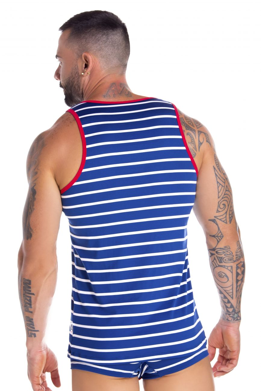 Men's tank tops - JOR Atlantic Tank Top available at MensUnderwear.io - Image 1