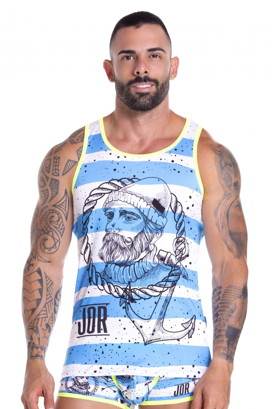 Men's tank tops - JOR Captain Tank Top available at MensUnderwear.io - Image 1