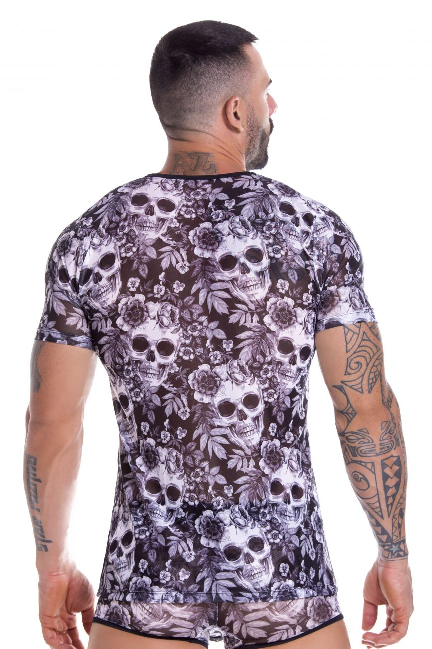Men's tank tops - JOR Skull Tank Top available at MensUnderwear.io - Image 1