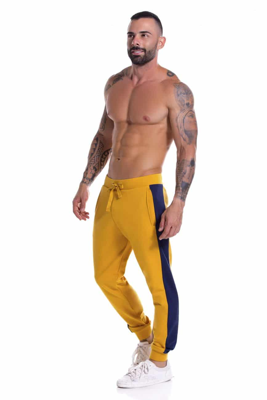 Male underwear model wearing JOR 0917 Milan Athletic Pants available at www.MensUnderwear.io
