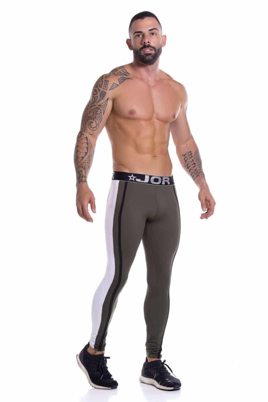 Male underwear model wearing JOR 0923 Daytona Athletic Pants available at www.MensUnderwear.io