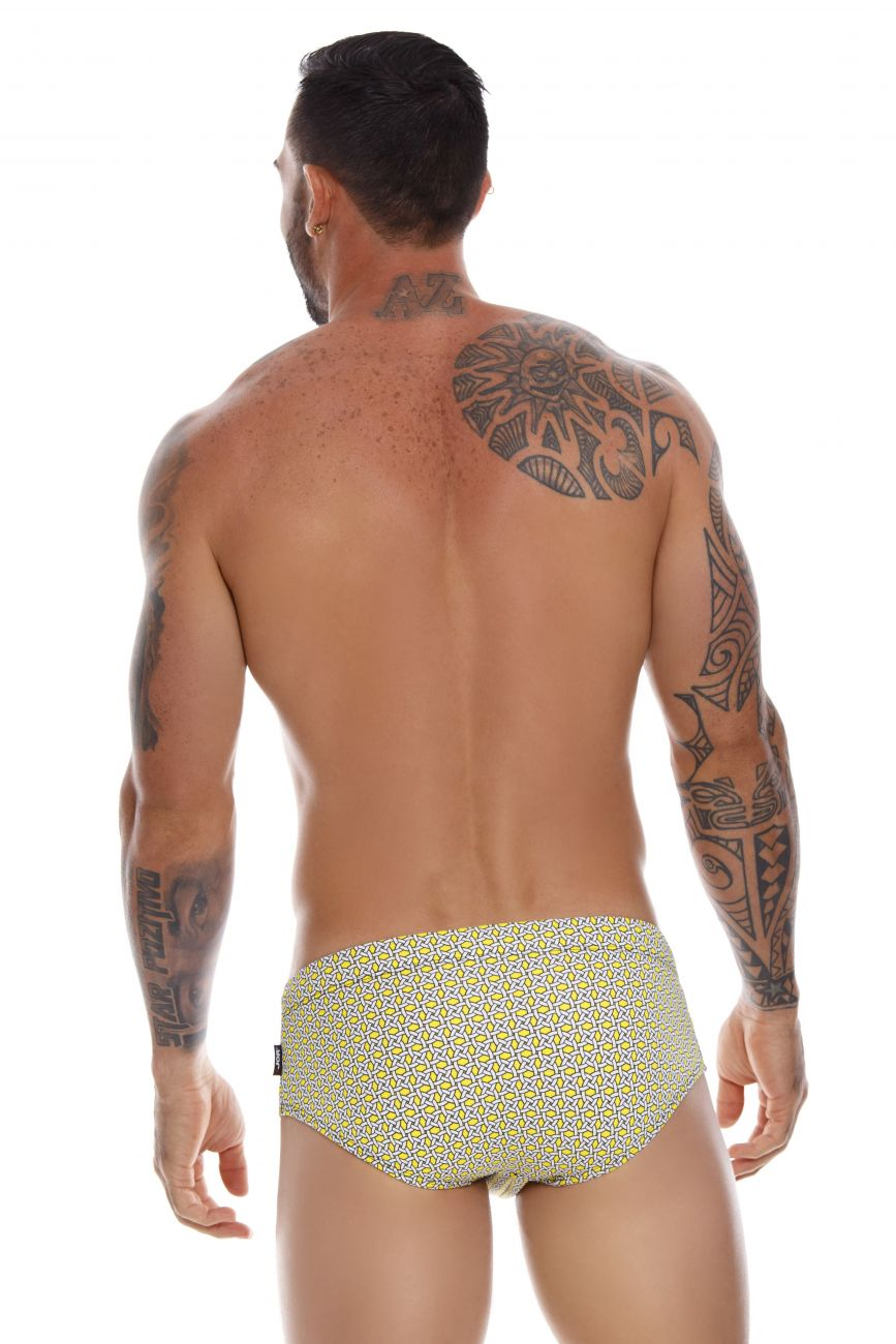 Male underwear model wearing JOR 1013 Baltic Swim Briefs available at www.MensUnderwear.io