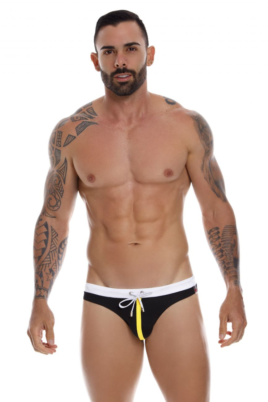 Male underwear model wearing JOR 1027 Ipanema Swim Thongs available at www.MensUnderwear.io