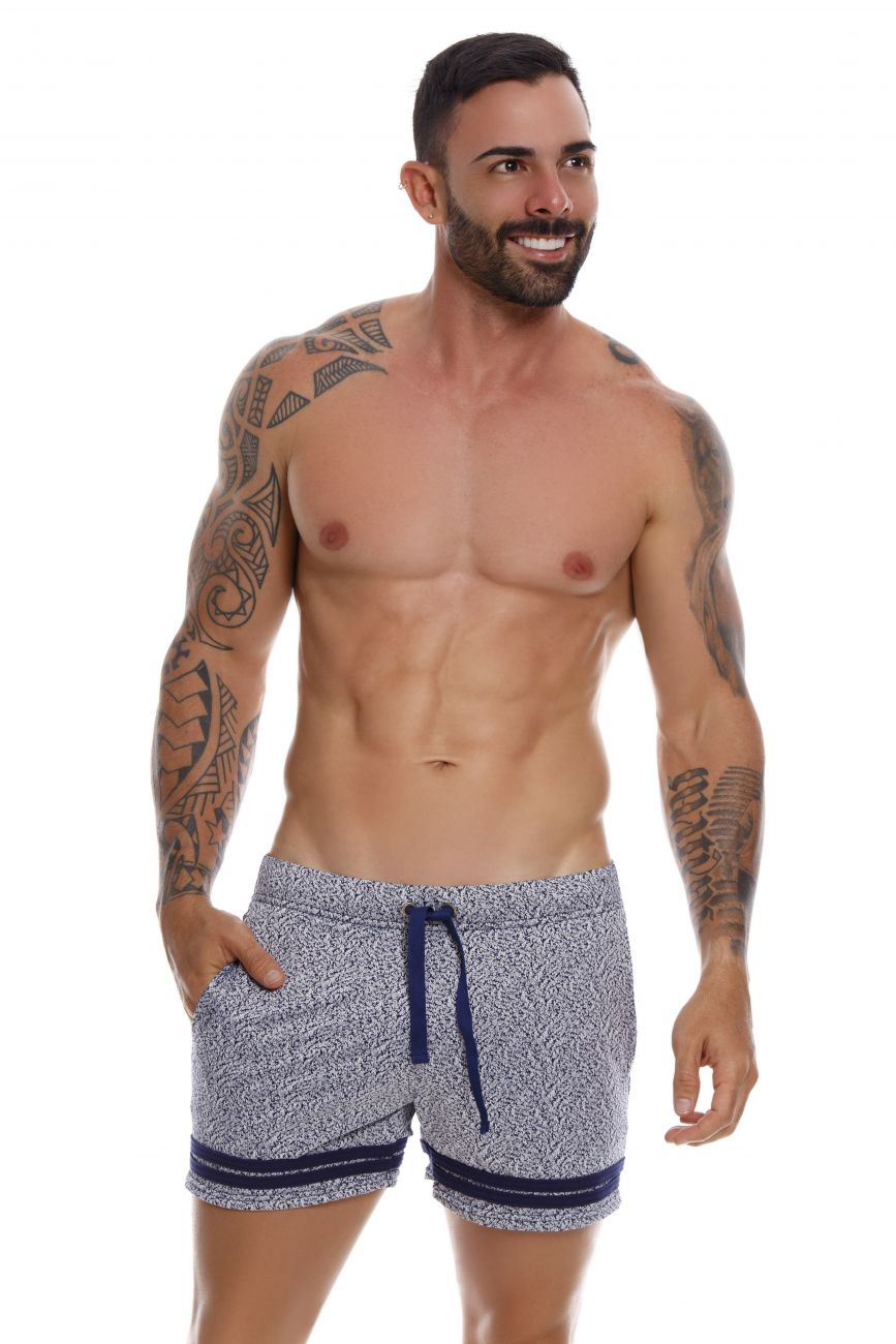 Male underwear model wearing JOR 1061 Soul Athletic Shorts available at www.MensUnderwear.io