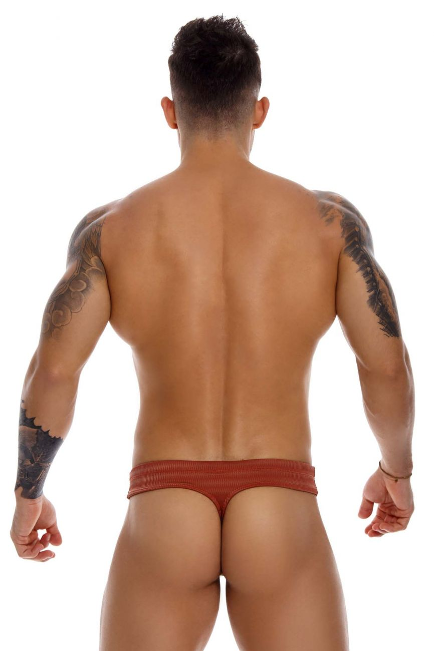 JOR Men's Glow Swim Bikini Thongs - available at MensUnderwear.io - 2