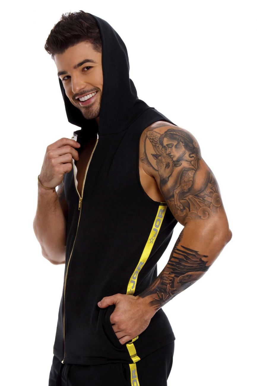 JOR Men's Sparta Hoodie Tank - available at MensUnderwear.io - 2