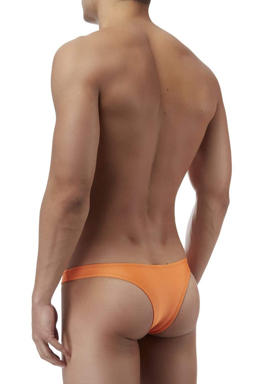 Male underwear model wearing Male Power PAK874 Euro Male Spandex Full Cut Thong available at www.MensUnderwear.io