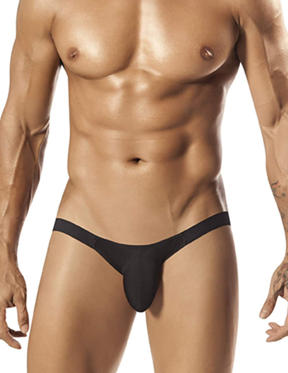 Male underwear model wearing PPU 1550 Slinger Sport Jockstrap available at www.MensUnderwear.io