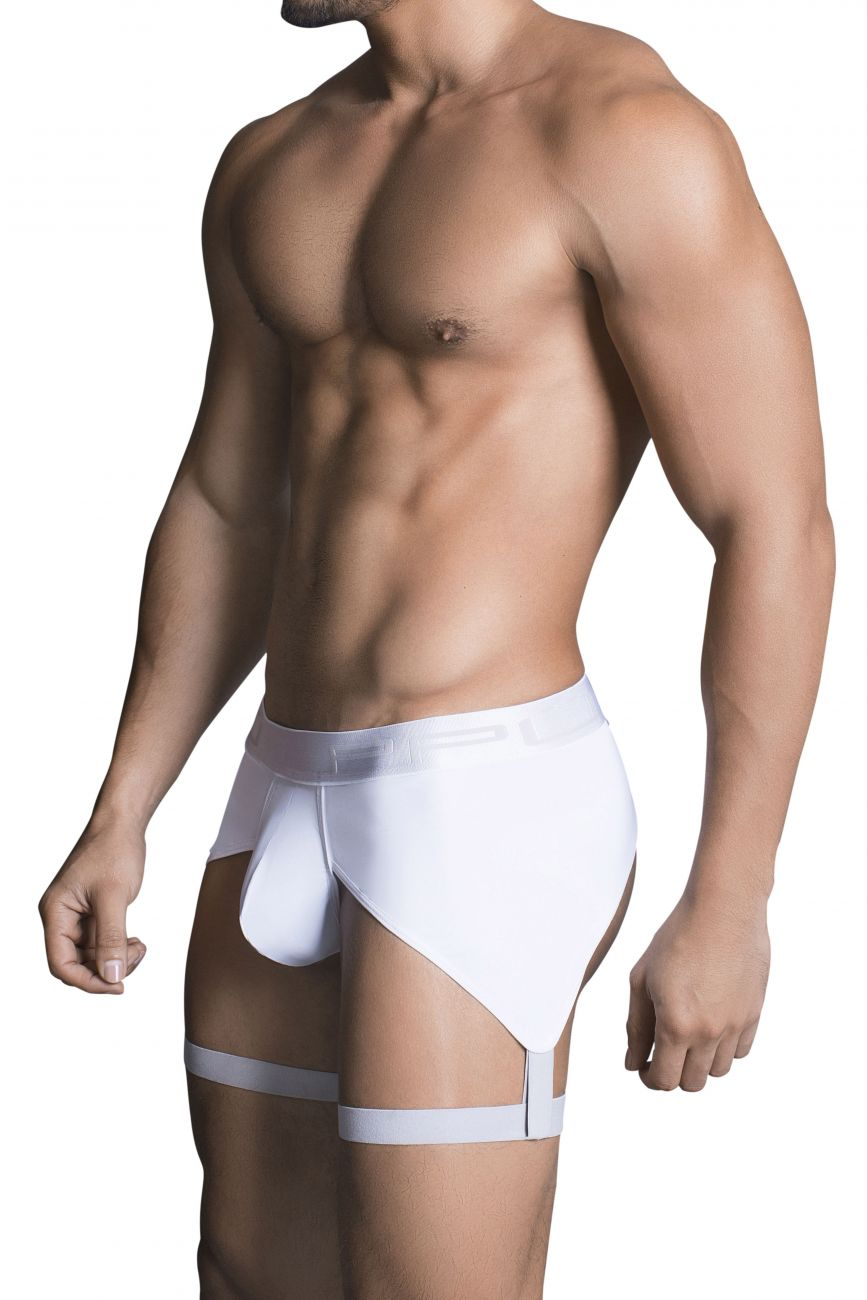 Male underwear model wearing PPU 1704 Boxer Briefs available at www.MensUnderwear.io