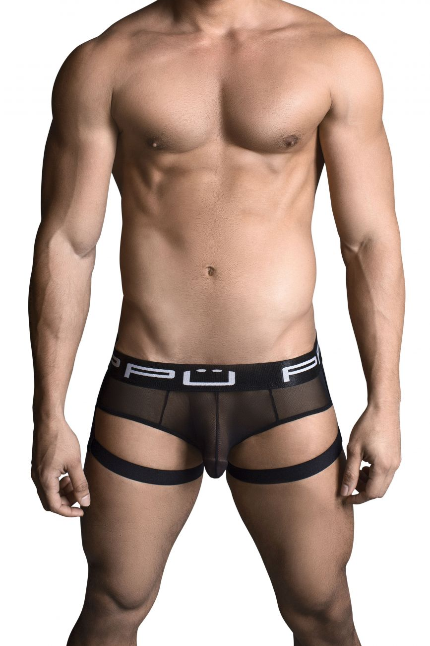 Male underwear model wearing PPU 1706 Bikini available at www.MensUnderwear.io