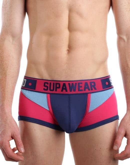 Male model wearing Supawear underwear for men