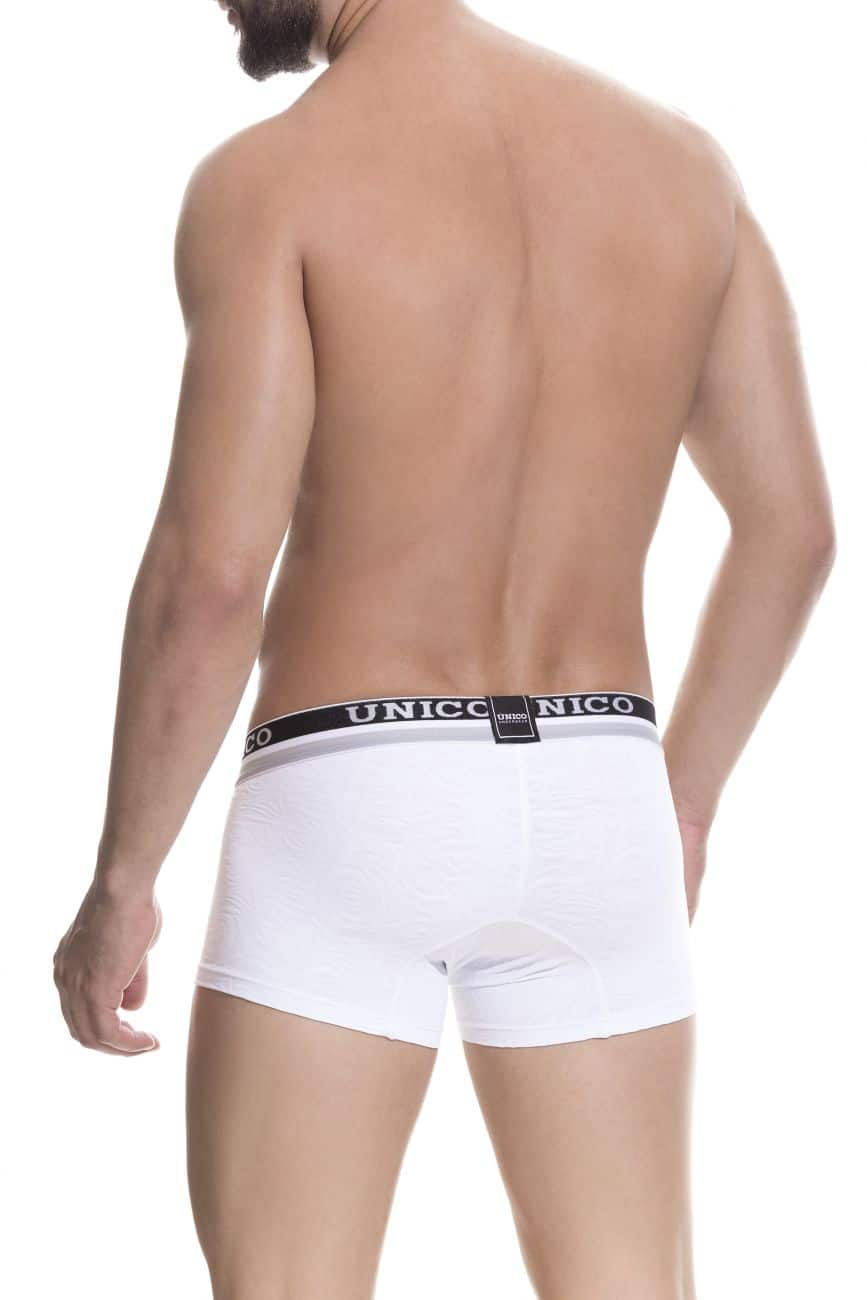Male underwear model wearing Unico 1802010013000 Boxer Briefs Reconnect available at www.MensUnderwear.io