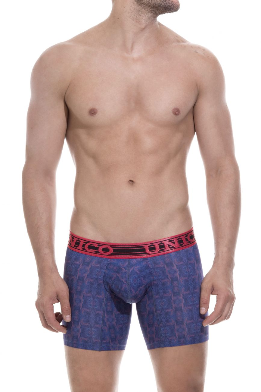 Male underwear model wearing Unico 1803010020890 Boxer Briefs Ecologico available at www.MensUnderwear.io