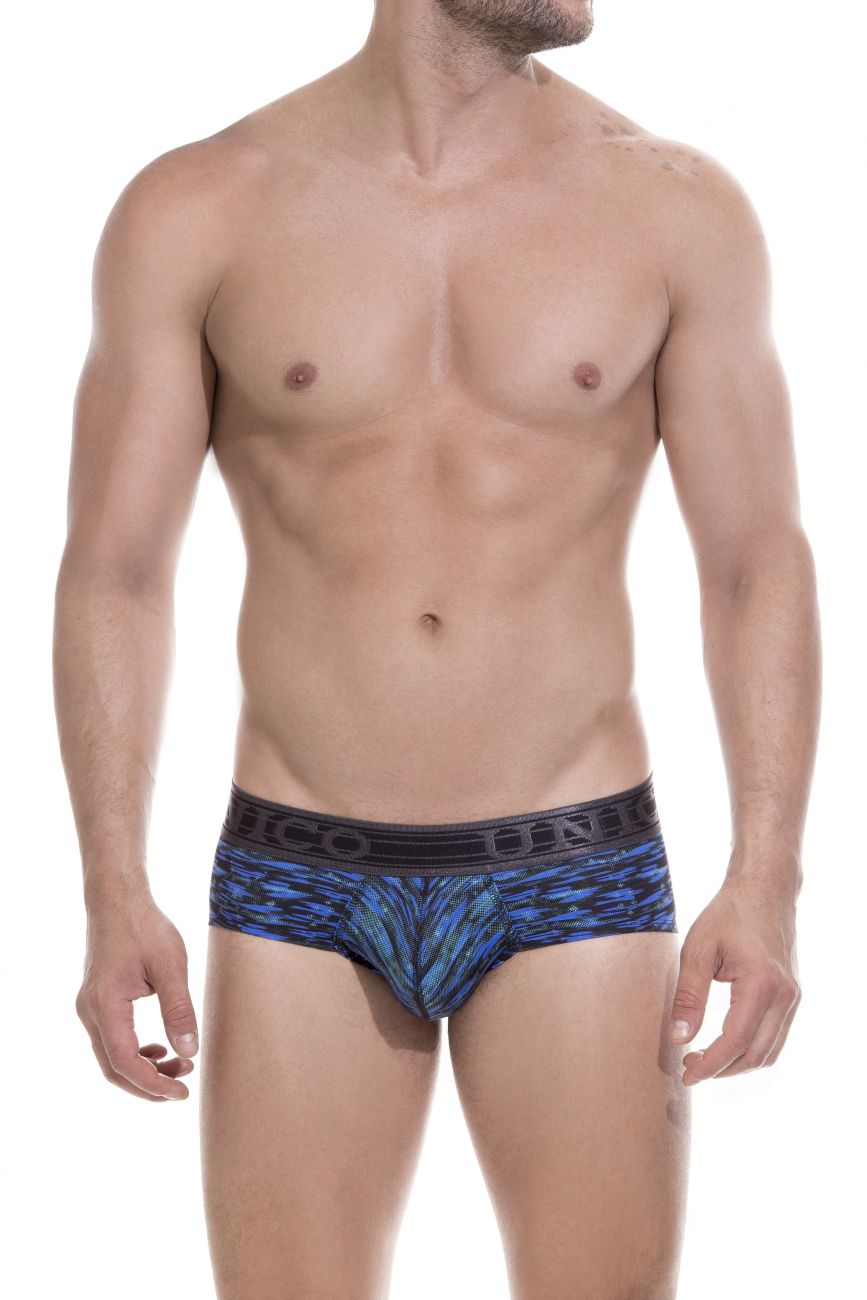 Male underwear model wearing Unico 1803020111090 Briefs Destiny available at www.MensUnderwear.io