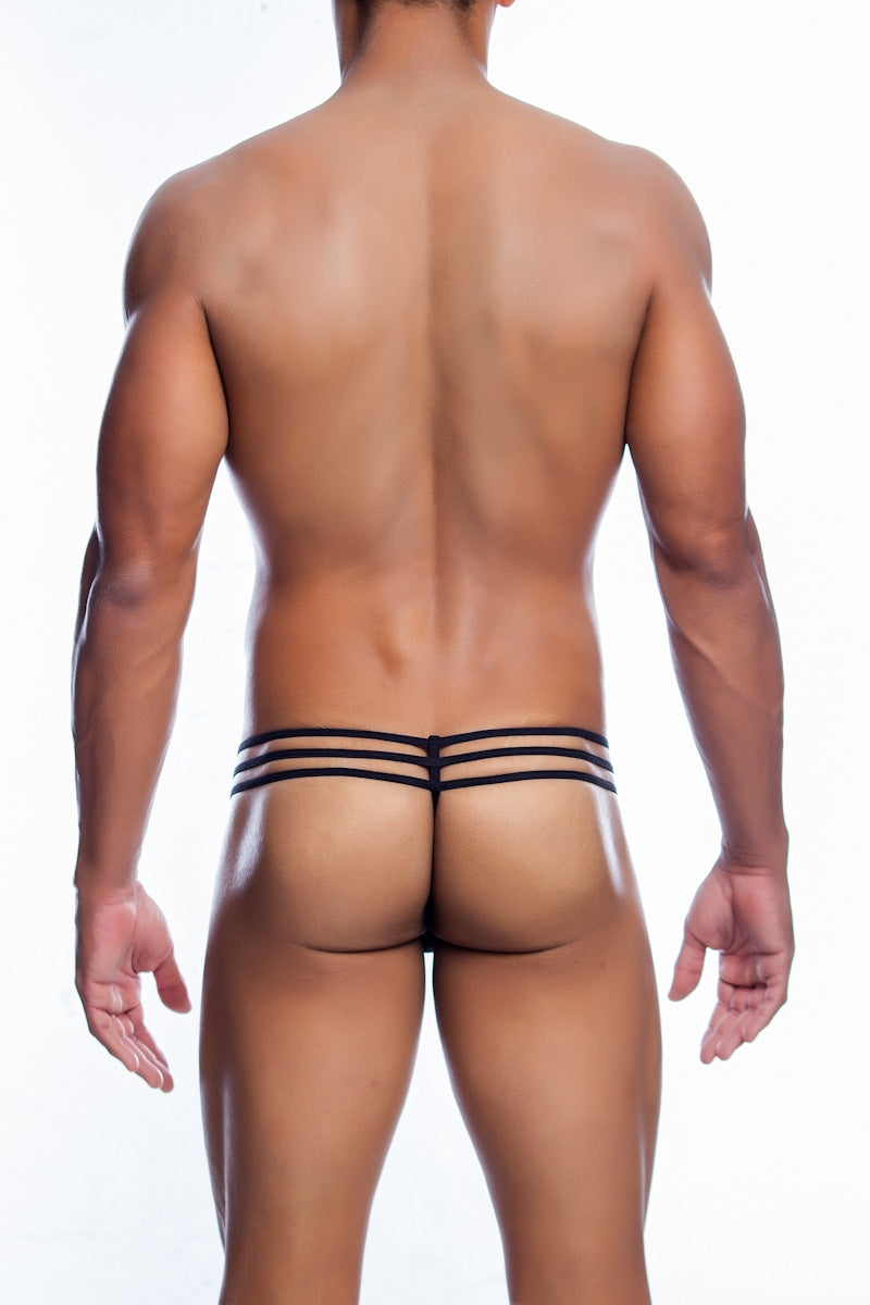MOB Eroticwear MOB Men's Lace Pouch Thong Men's Sexy Underwear