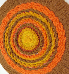 70s Circle Weave