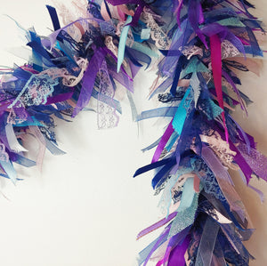 2 Metre Sophisticated Mermaid Tufty Garland
