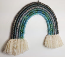 Load image into Gallery viewer, Large mermaid Macrame Rainbow
