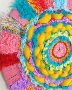 Bright Pom Circle Weave