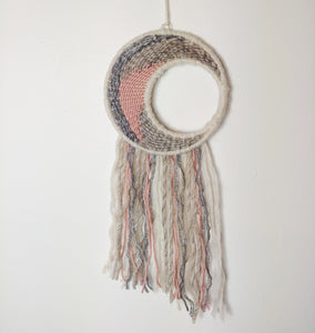 Silver and Pink Moon Weave