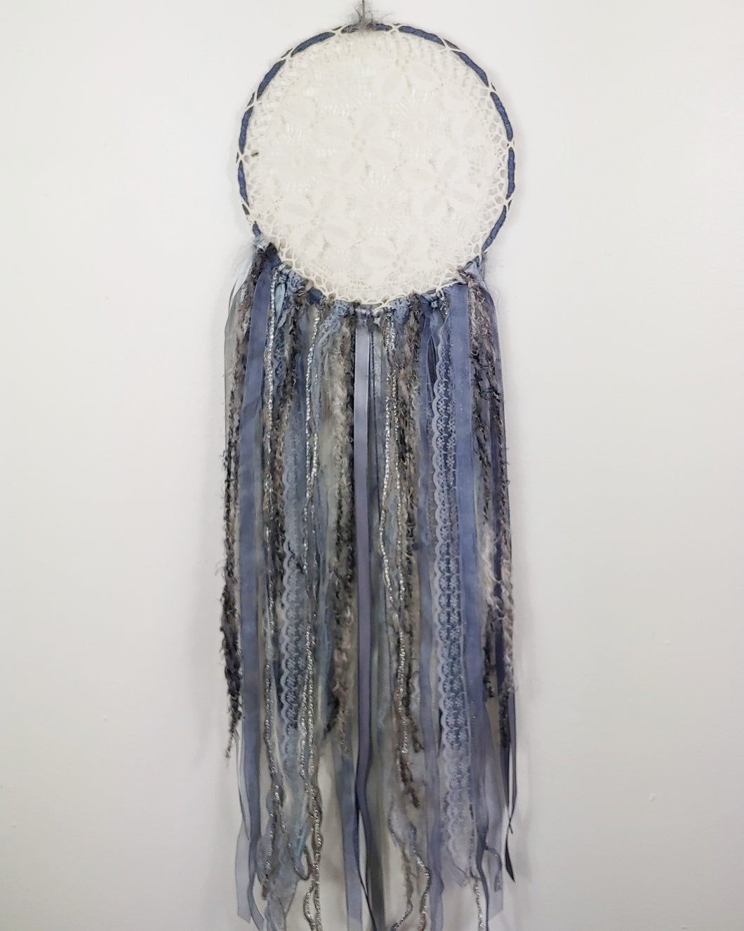 Soft Grey Dreamcatcher