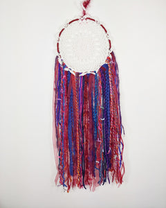 Boho Rainbow Dreamcatcher