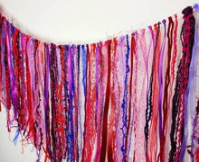Load image into Gallery viewer, Red Boho Garland