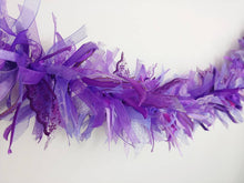 Load image into Gallery viewer, 3 Metre Dreamy Purple Tufty Garland