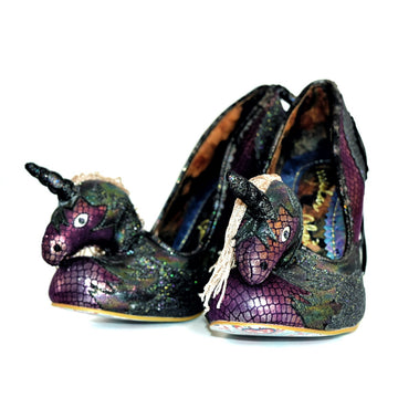 【SALE】Black Dream Heels By Irregular Choice