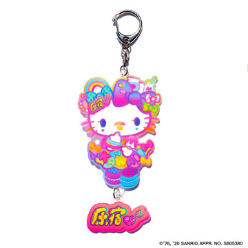 KMC×Hello Kitty collaboration acrilic keychain