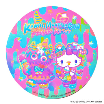 KMC×Hello Kitty LOGO sticker set
