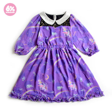 【SALE】Night Trip Chiffon Dress